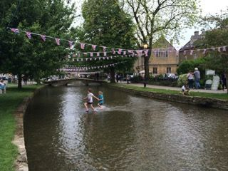 Bourton on the Water, Cotswolds (England)